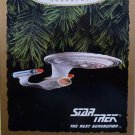 STAR TREK 1993 HALLMARK KEEPSAKE CHRISTMAS ORNAMENT U.S.S. ENTERPRISE NCC-1701-D THE NEXT GENERATION