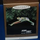 STAR TREK 1994 HALLMARK KEEPSAKE CHRISTMAS ORNAMENT KLINGON BIRD OF PREY THE NEXT GENERATION