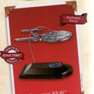 STAR TREK 2002 HALLMARK KEEPSAKE CHRISTMAS ORNAMENT ENTERPRISE NX-01 WITH VOICE FEATURE