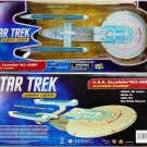 STAR TREK ELECTRONIC USS EXCELSIOR NCC-2000 STARSHIP LEGENDS ART ASYLUM DIAMOND SELECT UNDISCOVERED