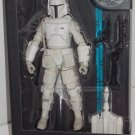 STAR WARS BLACK SERIES BOBA FETT 6 INCH POSEABLE FIGURE 2014 HASBRO WHITE PROTOTYPE ARMOR WALGREENS