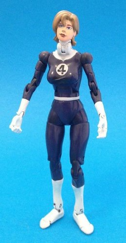 MARVEL LEGENDS FANTASTIC 4 FOUR BOXED SET LOOSE INVISIBLE WOMAN GIRL 6 INCH FIGURE SUE SUSAN STORM