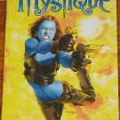 MARVEL LEGENDS SENTINEL SERIES WAVE 10 MYSTIQUE FULL COLOR POSTER BOOK 2005 TOYBIZ