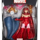 MARVEL LEGENDS AVENGERS INFINITE SERIES SCARLET WITCH ACTION FIGURE ODIN ALLFATHER 2015 BLUE CAPE