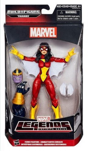 MARVEL LEGENDS AVENGERS INFINITE SERIES THANOS WAVE 6 INCH SPIDERWOMAN ACTION FIGURE 2015 HASBRO