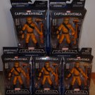 MARVEL LEGENDS CAPTAIN AMERICA INFINITE SERIES 1 LOT OF 5 A.I.M. AIM SOLDIERS 2014 NEW MANDROID WAVE