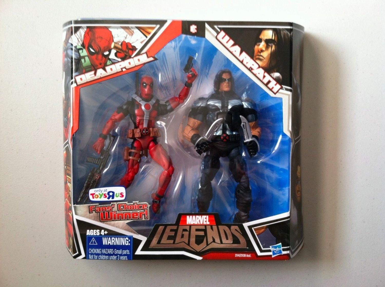 Marvel Toys R Us : Marvel legends toys r us exclusive red deadpool warpath