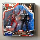 MARVEL LEGENDS TOYS R US EXCLUSIVE RED DEADPOOL & WARPATH ACTION FIGURE 2 PACK HASBRO TRU