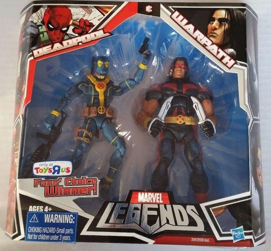 Marvel Toys R Us : Marvel legends toys r us exclusive blue deadpool warpath
