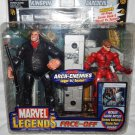 MARVEL LEGENDS FACE OFF UNMASKED VARIANT DAREDEVIL VS KINGPIN ACTION FIGURE 2 PACK 2006 TOYBIZ