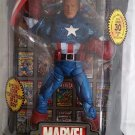 "MARVEL LEGENDS ICONS SERIES CAPTAIN AMERICA 12"" UNMASKED VARIANT ACTION FIGURE 2006 TOYBIZ AVENGERS"