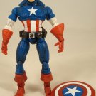 MARVEL LEGENDS FACE OFF UNMASKED LOOSE VARIANT CAPTAIN AMERICA FIGURE ONLY 2006 TOYBIZ STEVE ROGERS