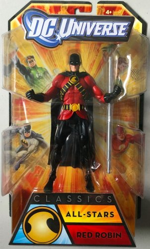 DC UNIVERSE CLASSICS RED ROBIN ACTION FIGURE ALL STARS SERIES WAVE TIM DRAKE BATMAN MATTEL NEW 52