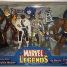 MARVEL LEGENDS FANTASTIC FOUR BOX BOXED SET 2004 TOYBIZ DR DOOM THING HUMAN TORCH INVISIBLE VARIANT