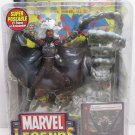 MARVEL LEGENDS SERIES WAVE 8 STORM ACTION FIGURE W/ DISPLAY STAND BASE & COMIC 2005 TOYBIZ X-MEN