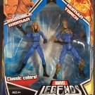 MARVEL LEGENDS FANTASTIC FOUR INVISIBLE WOMAN & HUMAN TORCH 2 PACK HASBRO CLASSIC COLORS