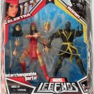 MARVEL LEGENDS TOYS R US EXCLUSIVE ELEKTRA & RONIN ACTION FIGURE 2 PACK HASBRO 2008 NETFLIX WAVE 1