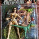 CAVEWOMAN 7 INCH ACTION FIGURE BY RENDITION MERIEM COOPER & T-REX NEW UNOPENED 1998 BUD ROOT