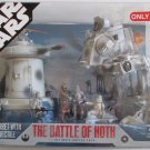 STAR WARS SAGA 30th ANNIVERSARY THE BATTLE OF HOTH ULTIMATE BATTLE PACK TARGET EXCLUSIVE 2007 NEW