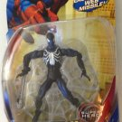 MARVEL LEGENDS SPIDERMAN CLASSICS BLACK COSTUME SPIDERMAN ACTION FIGURE LAUNCHING MISSILE & WEB 2008