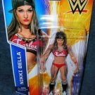 WWE HOT DIVA NIKKI BELLA BASIC SERIES #52 ACTION FIGURE WRESTLING NXT 2015 FEARLESS RED OUTFIT NEW