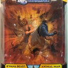 DC UNIVERSE CLASSICS B'WANA BEAST ANIMAL MAN JUSTICE IN THE JUNGLE ACTION FIGURE 2 PACK 2009 MATTEL