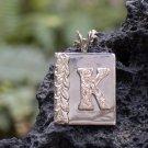 14kt Gold Hawaiian Malie Intial Pendant