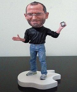 Steve Jobs Collectible Figurine (Web Code: 641308)