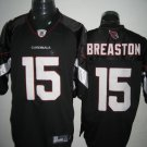 Arizona Cardinals # 15 Breaston NFL Jersey Black