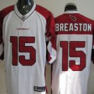 Arizona Cardinals # 15 Breaston NFL Jersey White