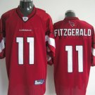 Arizona Cardinals # 11 Fitzgerald NFL Jersey Red