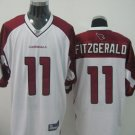Arizona Cardinals # 11 Fitzgerald NFL Jersey White