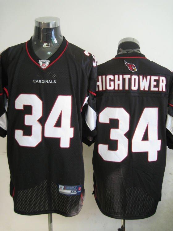 Arizona Cardinals # 34 Hightower NFL Jersey Black