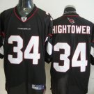 Arizona Cardinals # 34 Hightower NFL Jersey Black