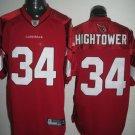 Arizona Cardinals # 34 Hightower NFL Jersey Red