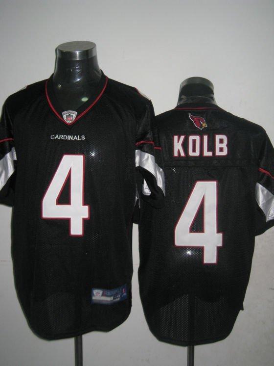 Arizona Cardinals # 4 Kolb NFL Jersey Black