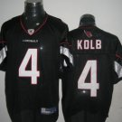 Arizona Cardinals # 4 Kolb NFL Jersey Black