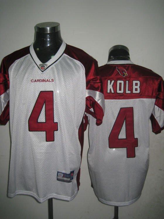 Arizona Cardinals # 4 Kolb NFL Jersey White