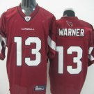 Arizona Cardinals # 13 Warner NFL Jersey Red