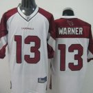 Arizona Cardinals # 13 Warner NFL Jersey White