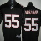 Atlanta Falcons # 55 Abraham NFL Jersey Black