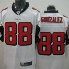 Atlanta Falcons # 88 Gonzalez NFL Jersey White