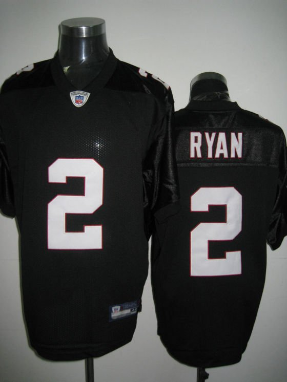 Atlanta Falcons # 2 Ryan NFL Jersey Black