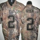 Atlanta Falcons # 2 Ryan NFL Jersey Camo