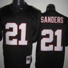 Atlanta Falcons # 21 Sanders NFL Jersey Black