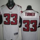 Atlanta Falcons # 33 Turner NFL Jersey White