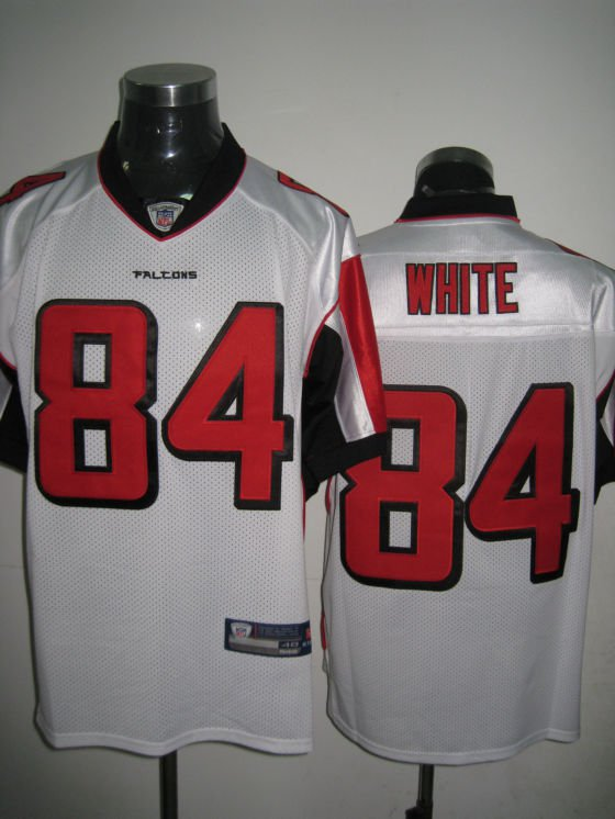 Atlanta Falcons # 84 White NFL Jersey White