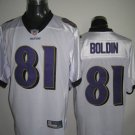 Baltimore Ravens # 81 Boldin NFL Jersey White