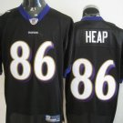 Baltimore Ravens # 86 Heap NFL Jersey Black