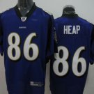 Baltimore Ravens # 86 Heap NFL Jersey Purple